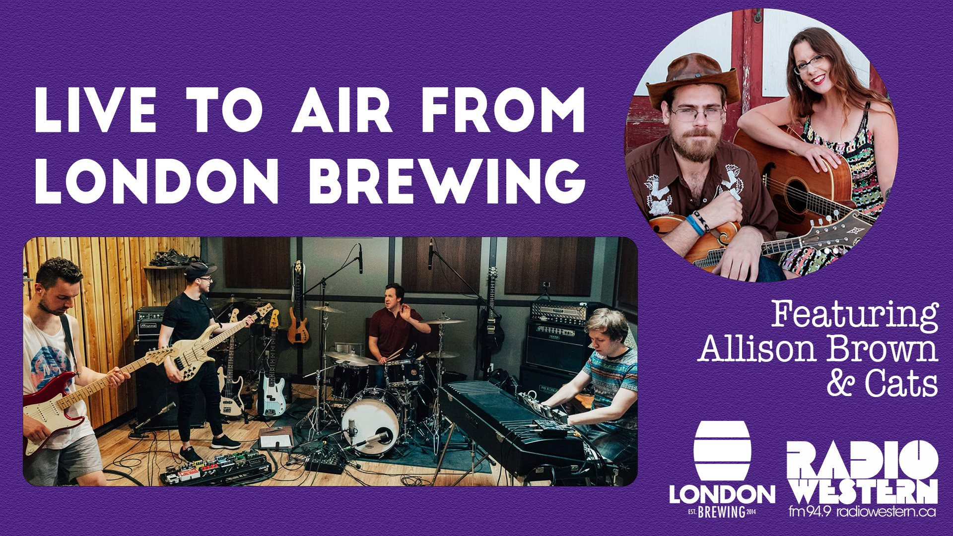 Radio Western Live to Air From London Brewing