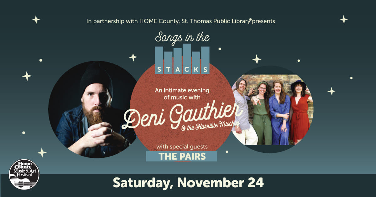 Songs in the Stacks: Deni Gauthier ft. The Pairs