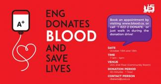 Eng Donates Blood