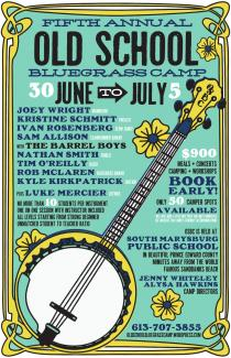 Old School Bluegrass Camp 2019 - Milford, Ontario