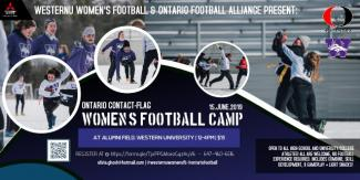 Women's Contact-Flag Football Camp