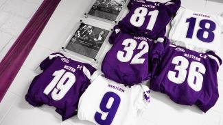 2019 Wall of Champions - Western Mustangs Football