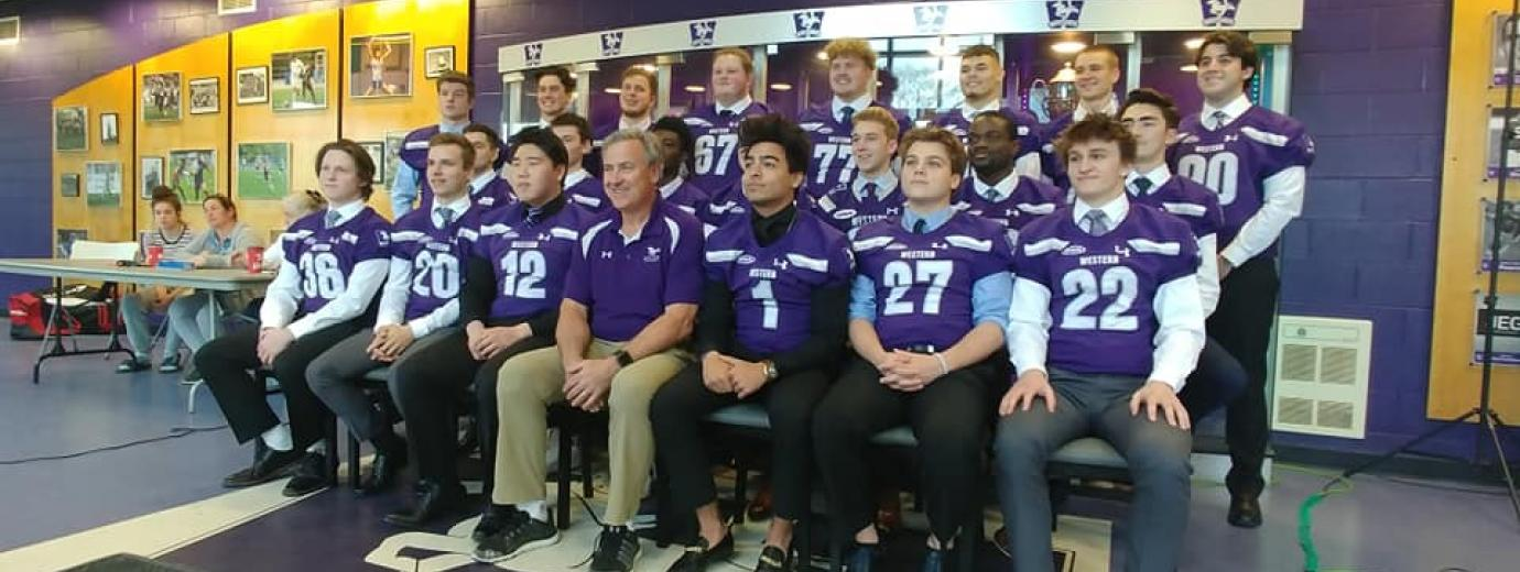Western Mustangs Football Recruitment 2019