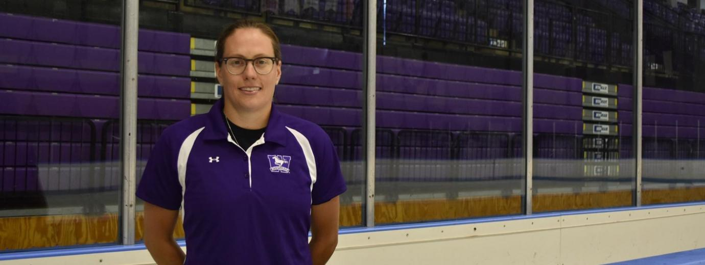 Western Mustangs Women's Hockey Head Coach Candice Moxley