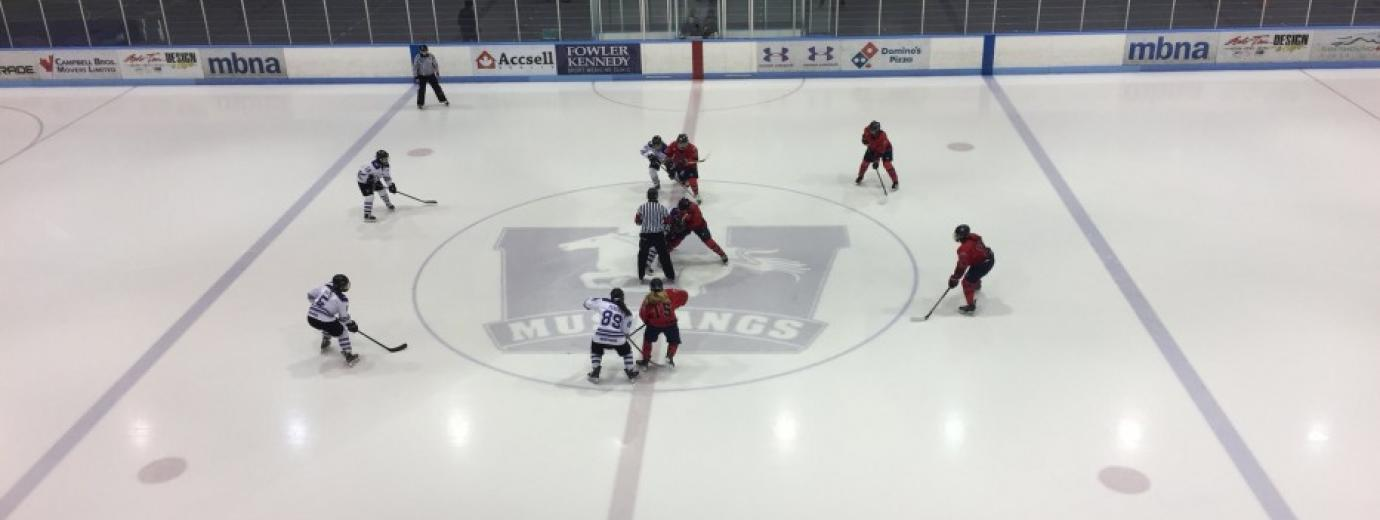 RadioWestern Sports News - Mustangs vs Badgers Banner