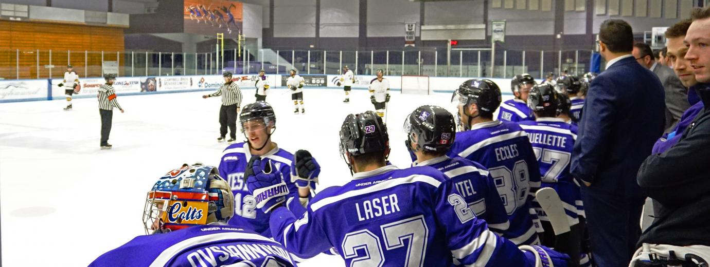 The Mustangs Celebrate After a Goal