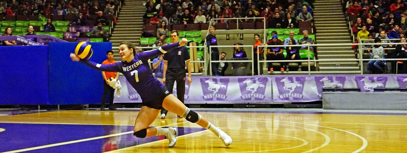 Western Mustangs Women's Volleyball