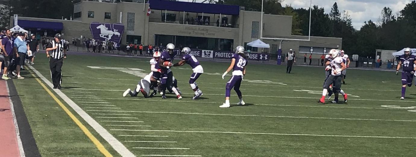 York Lions @ Western Mustangs Football