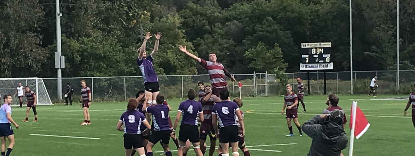 Western Mustangs vs McMaster - Men's Rugby