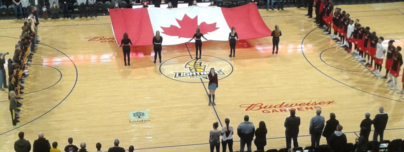 Radio Western - London Lightning - Candian National Anthem