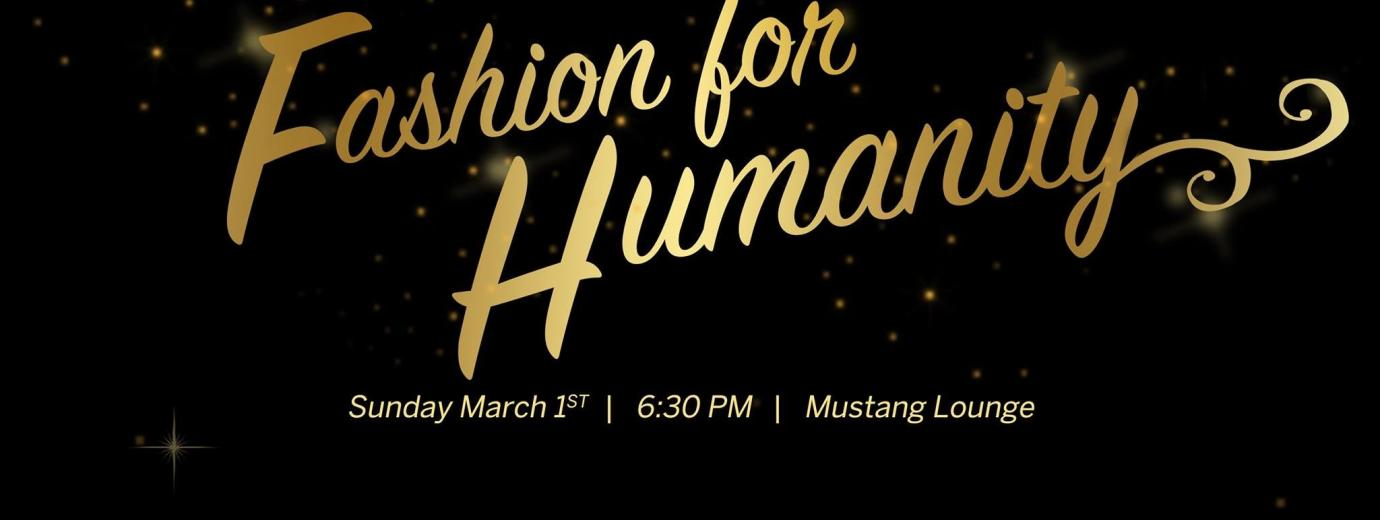 Fashion for Humanity Event