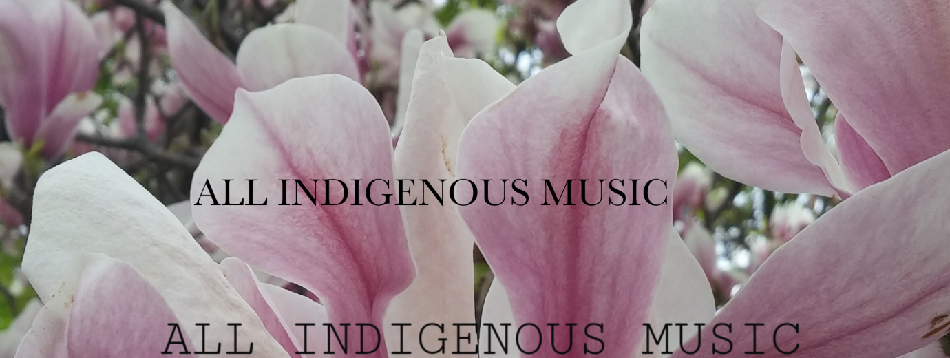 All Indigenous Music Banner
