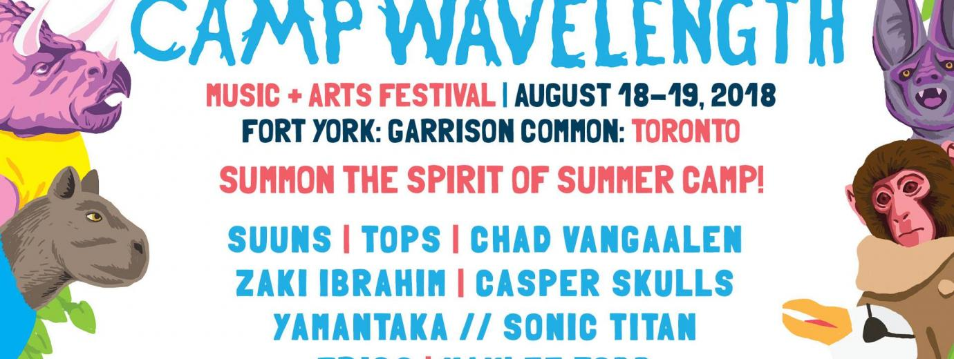 Exclaim presents Camp Wavelength 2018