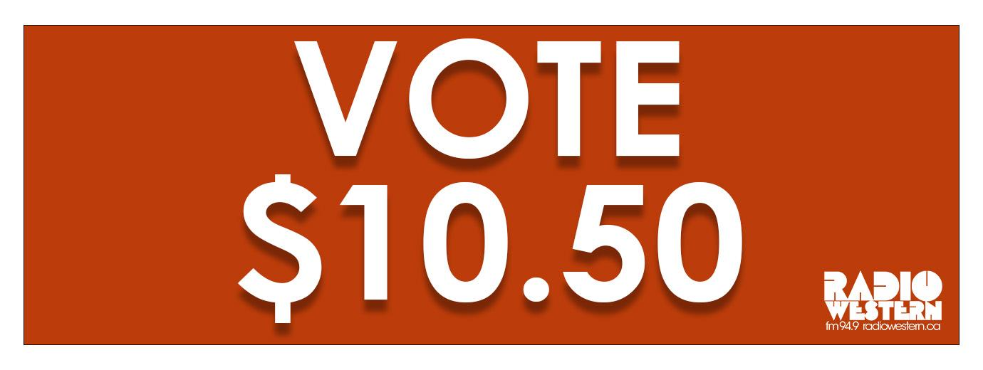 Vote $10.50 in the Radio Western Referendum