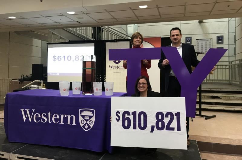 Western's United Way Campaign Gift Announcement