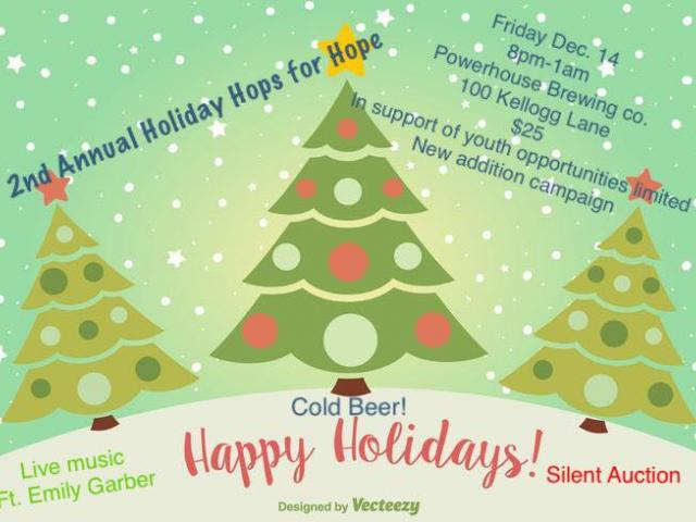2nd Annual Holiday Hops for Hope