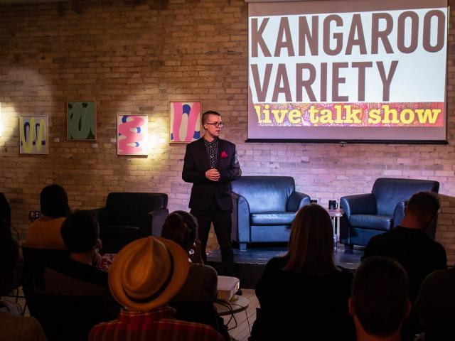 Kangaroo Variety: A Live Talk Show For Creative Thinkers – DEC