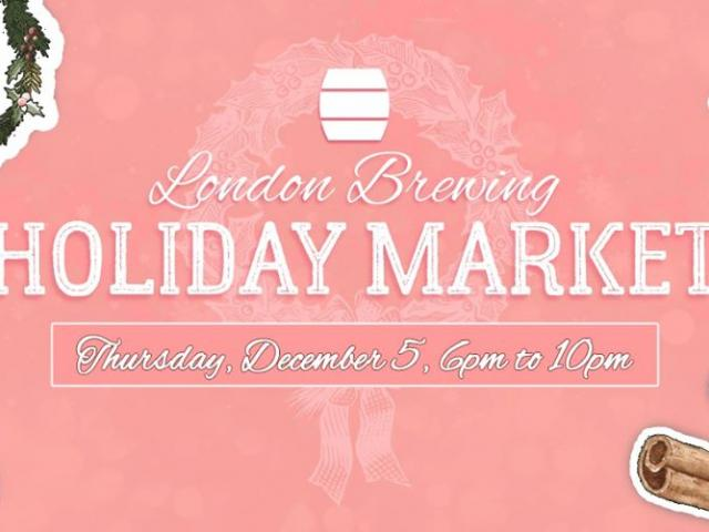 London Brewing's Holiday Market